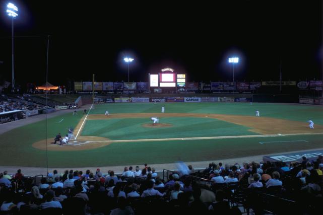 Lancaster Barnstormers baseball game