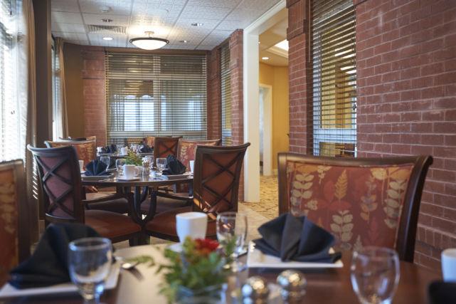 SpiriTrust Lutheran Renovated Dining Room