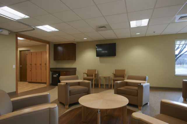 LG Health Heart Group medical waiting room