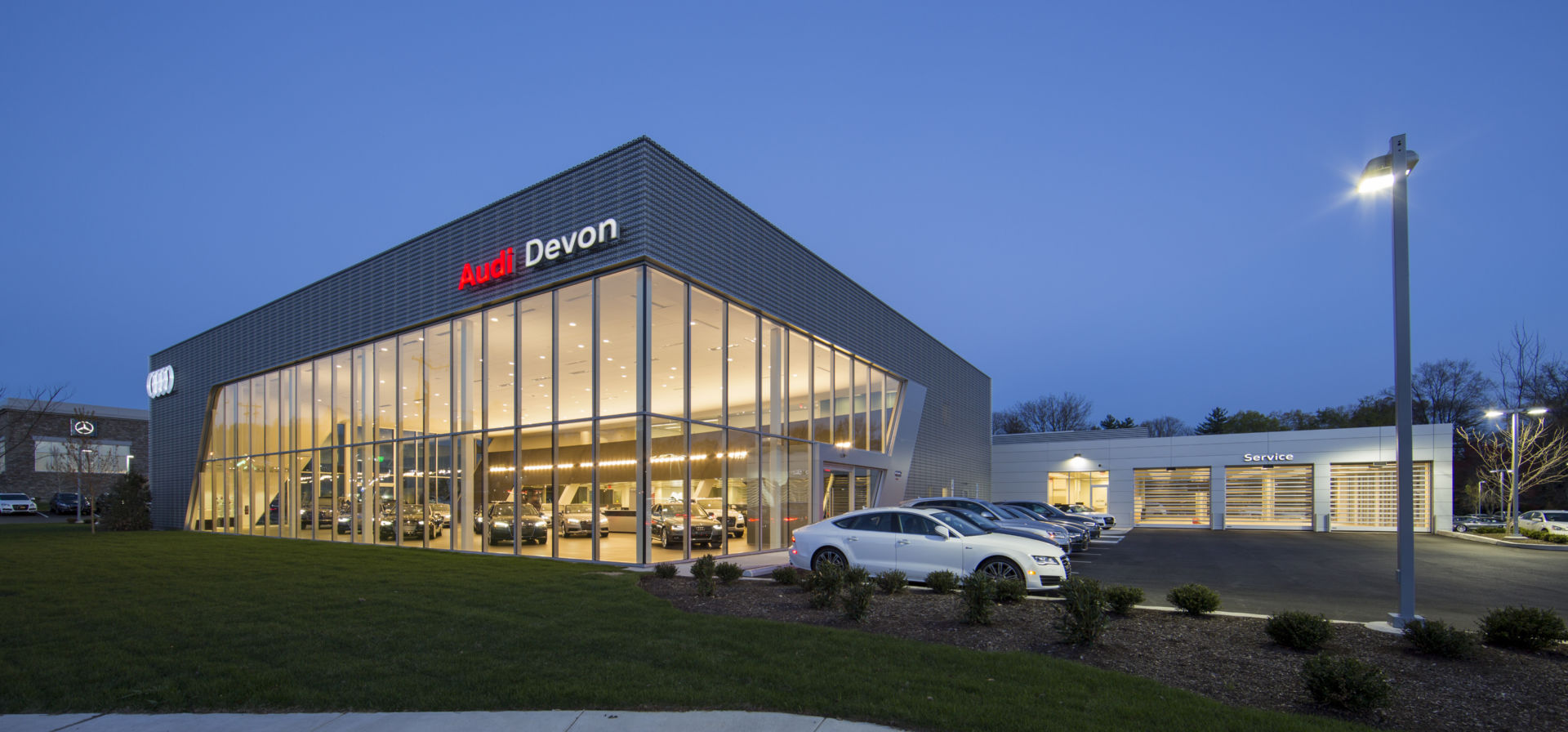 Audi Salesroom in Devon