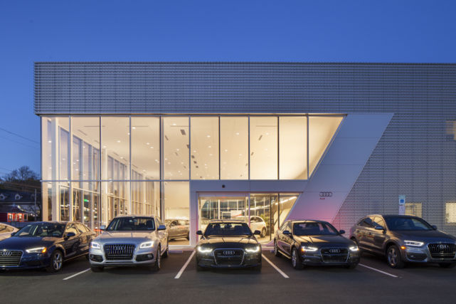 Exterior View Audi Salesroom