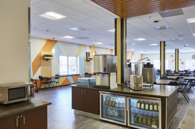 Water Street Mission New Dining Hall
