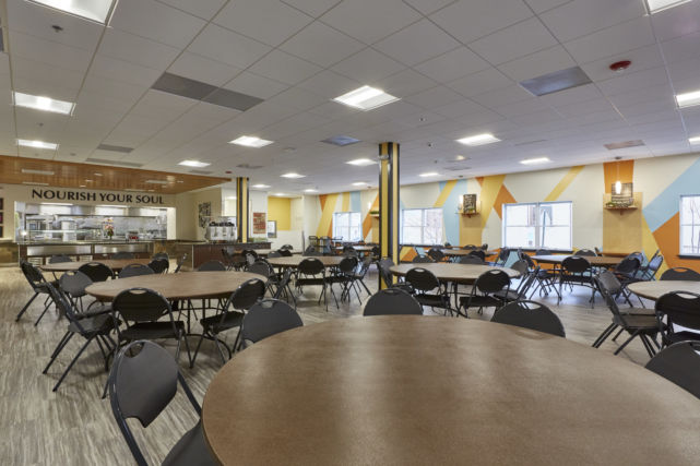 Water Street Mission Dining Hall