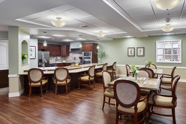 Artman Home Nursing Household Dining Room