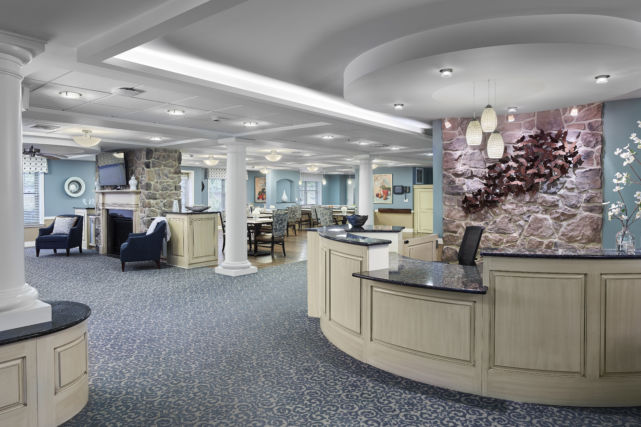 Renovated Lobby and Open Space