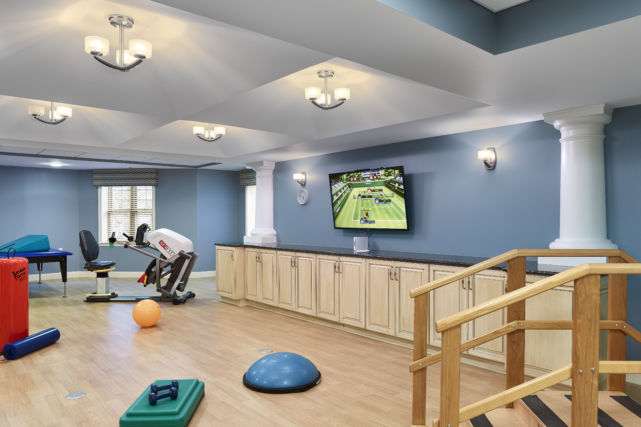 Artman Home Renovated Physical Therapy Gym