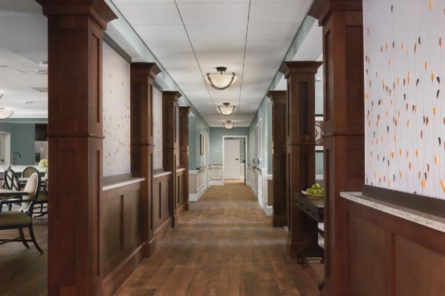 Acts Granite Farms Renovated Corridor