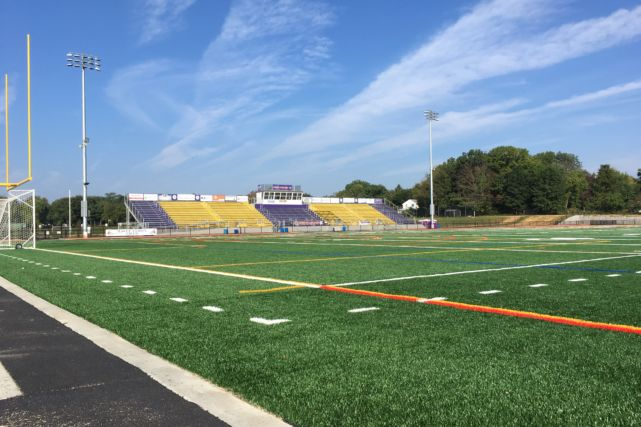 Lancaster Catholic High School stadium seating