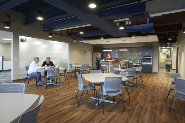 Lancaster Chamber Lunch Room