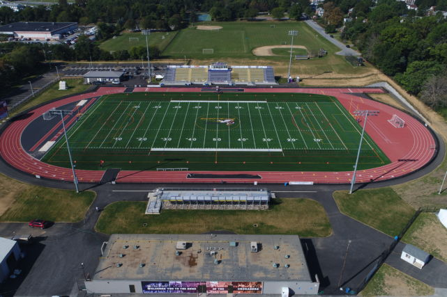 Lancaster Catholic High School new stadium and track