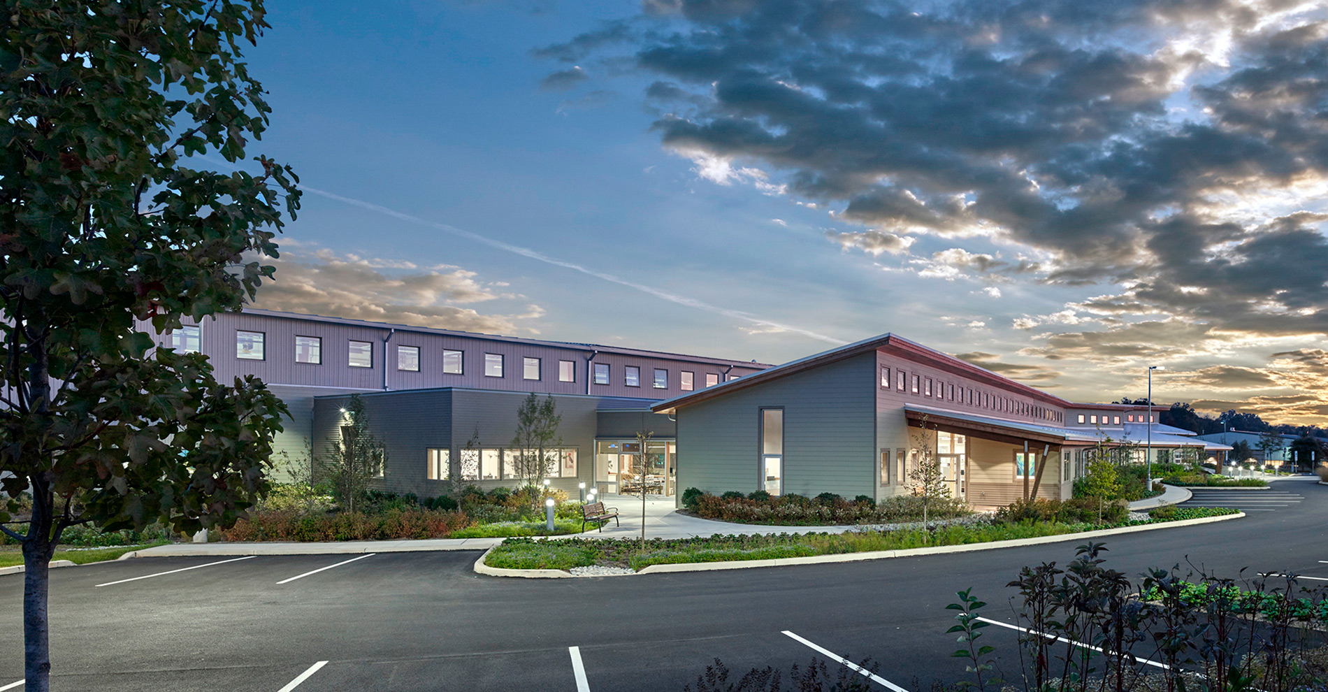 East Petersburg Pa >> Exterior photo of Aerzen office and warehouse building | WARFEL